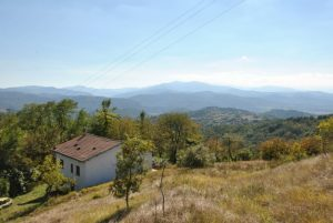 INDEPENDENT HOUSE ON TWO LEVELS WITH LANDS IN A PANORAMIC POSITION in SALE SAN GIOVANNI