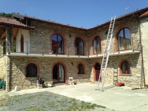 Reconstruction in Roccaverano (AT)